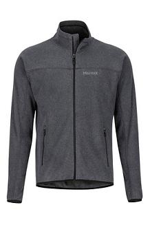 Men's Pisgah Fleece Jacket, Black, medium