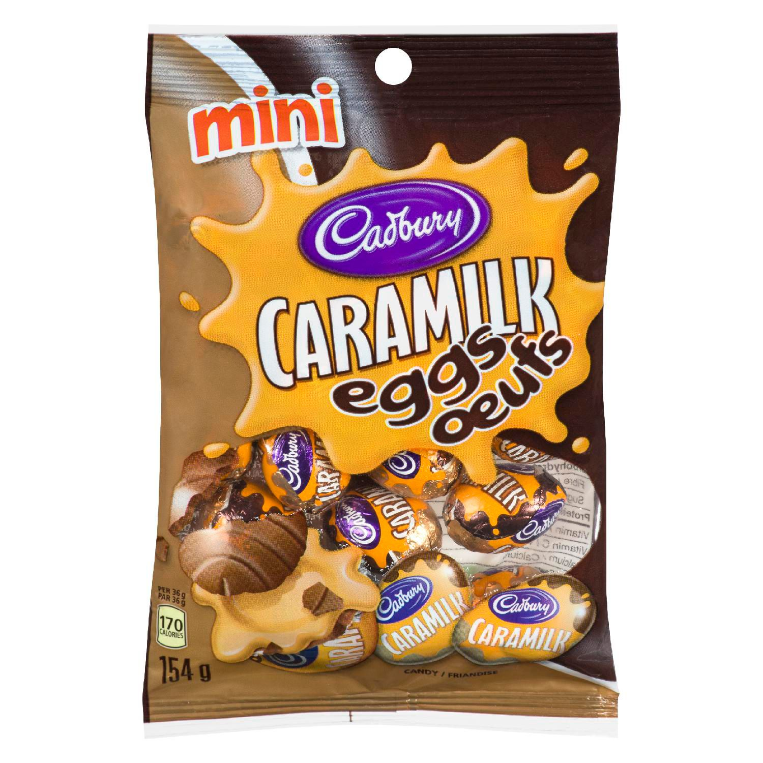 CADBURY MINI CARAMILK EGGS 154G