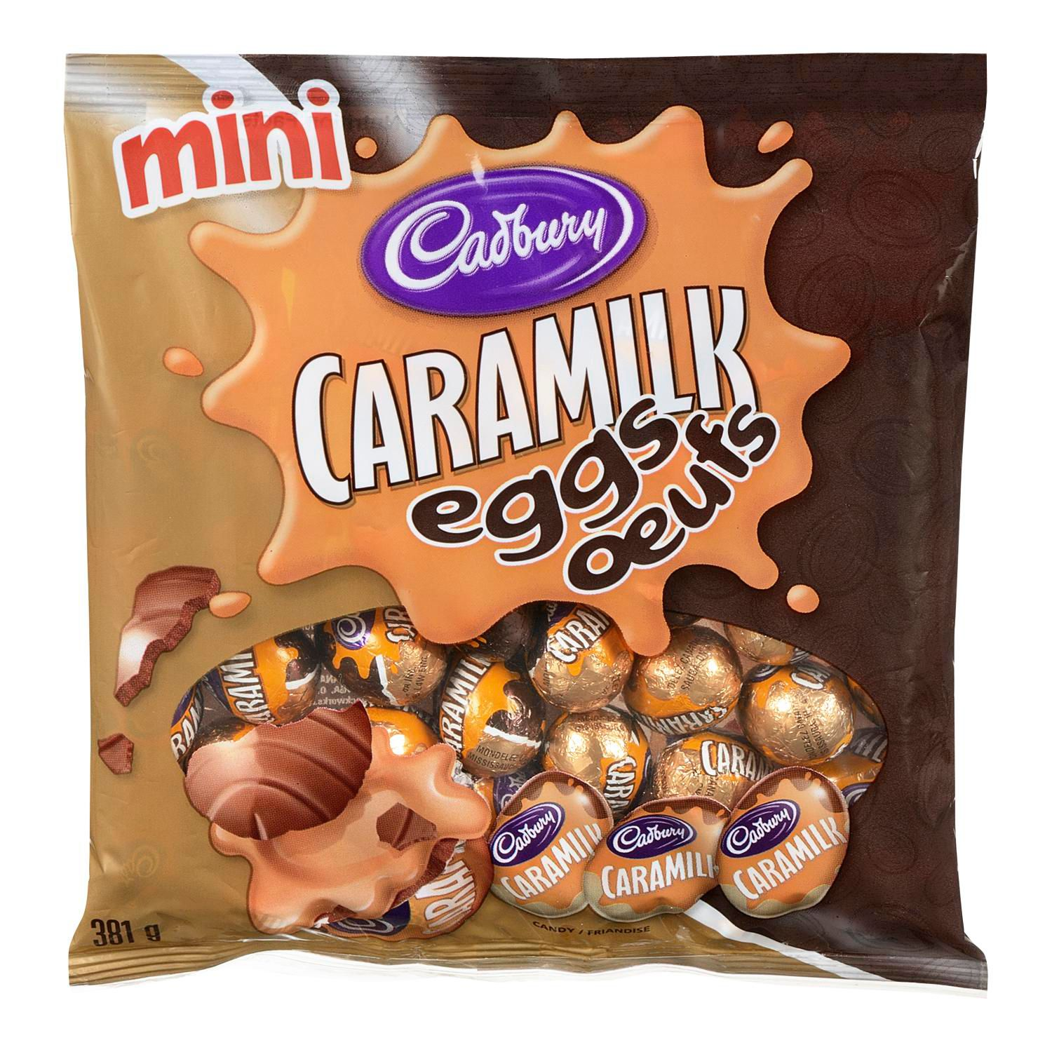 CADBURY MINI CARAMILK EGGS 381G
