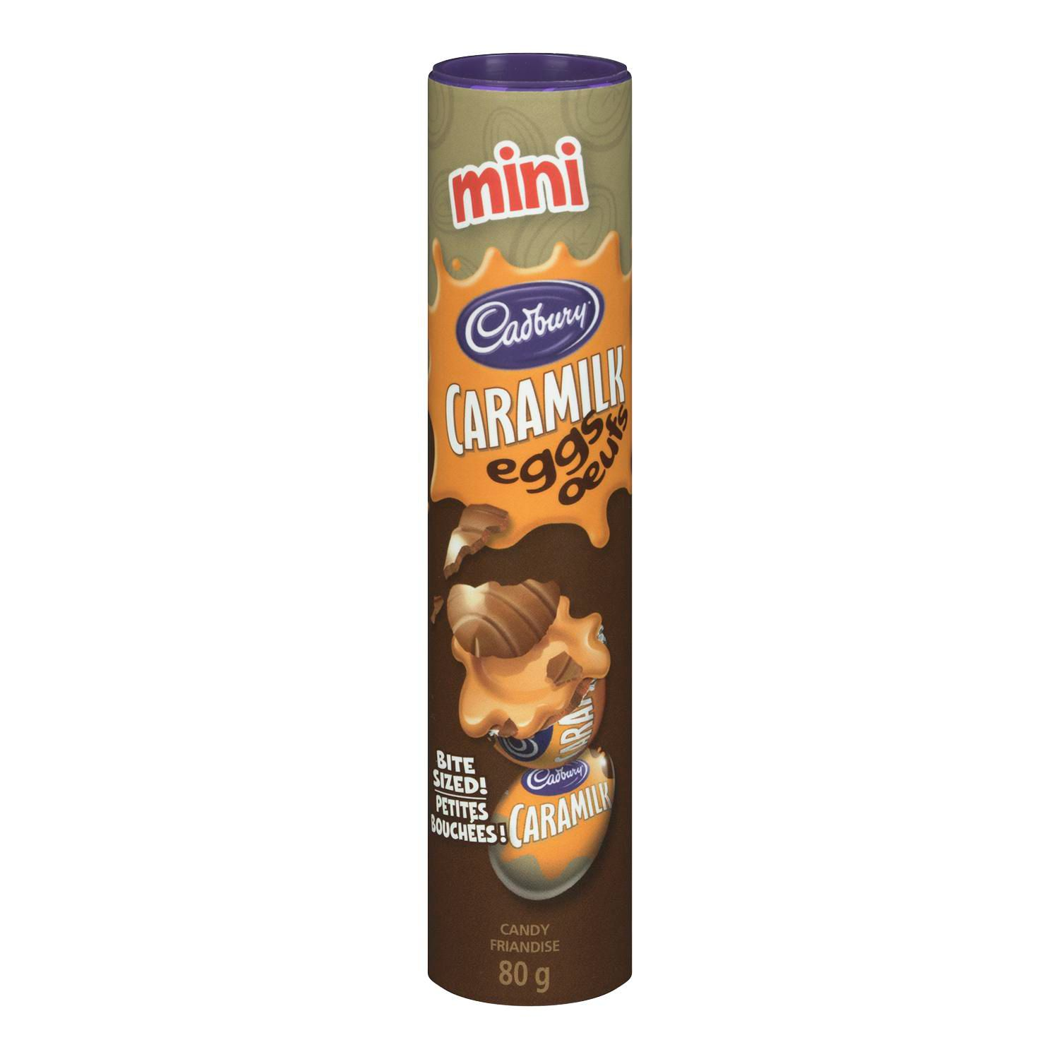 CAD MINI CARAMILK EGG TUBE 80G