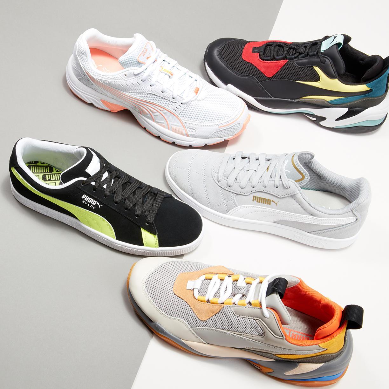 Men's Active Sneakers ft. PUMA