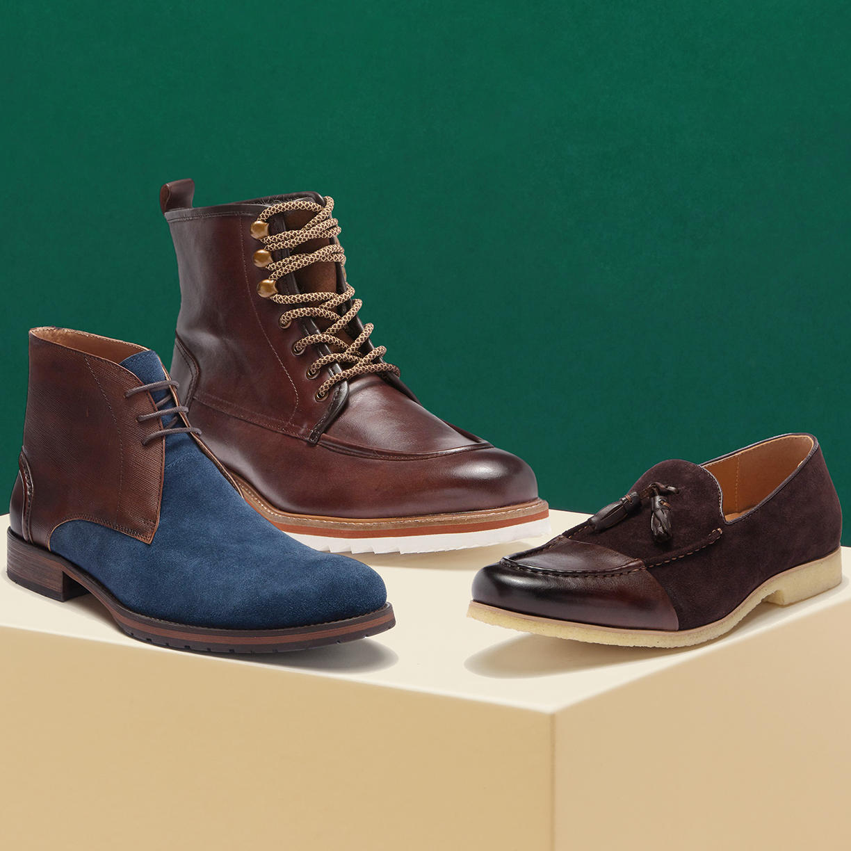 Contemporary Shoes for Him Up to 60% Off