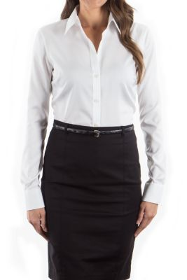 Image for Calvin Klein Women's Non-Iron Micro Pincord from PVH Corporate Outfitters