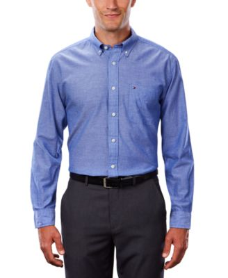 Image for Tommy Hilfiger Men's Cotton/Linen Shirt from PVH Corporate Outfitters