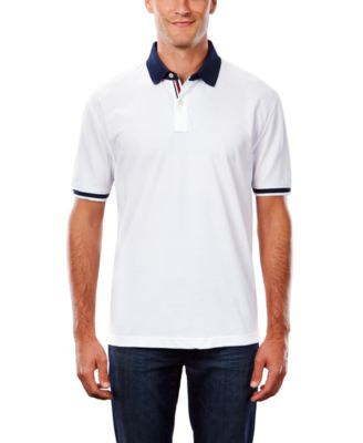 Image for Tommy Hilfiger Men's Tipped Cotton Pique from PVH Corporate Outfitters