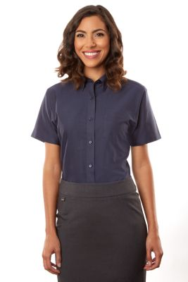 Image for Van Heusen Women's  Short Sleeve Oxford from PVH Corporate Outfitters