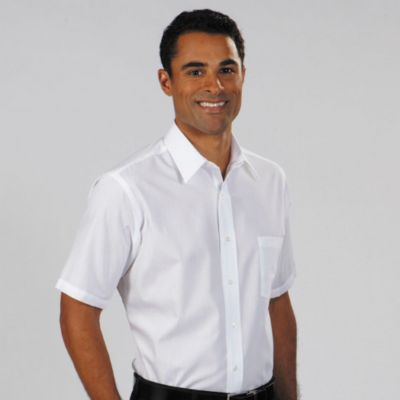 Image for Van Heusen Men's Short Sleeve Broadcloth from PVH Corporate Outfitters