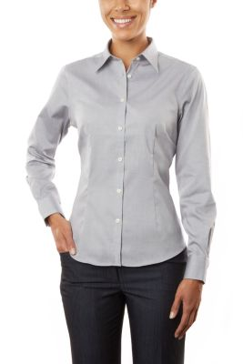 Image for Eagle Women's Non-Iron Pinpoint from PVH Corporate Outfitters