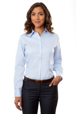 Image for Van Heusen Women's Non-Iron Pinpoint from PVH Corporate Outfitters