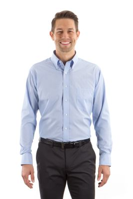 Image for Eagle Men's Non-Iron Feather Stripe from PVH Corporate Outfitters