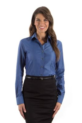 Image for Van Heusen Women's Pique Long Sleeve from PVH Corporate Outfitters