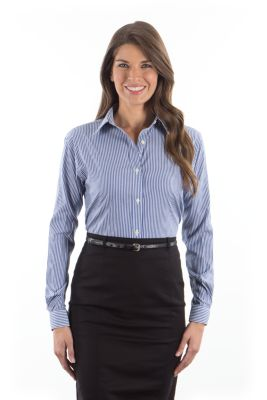 Image for Van Heusen Women's Striped -  Long Sleeve from PVH Corporate Outfitters