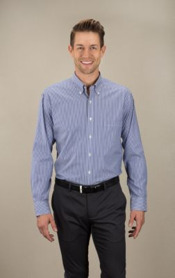 Image for Van Heusen Men's Striped - Long Sleeve from PVH Corporate Outfitters
