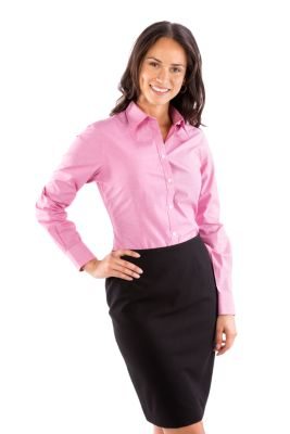 Image for Van Heusen Women's Mini Check from PVH Corporate Outfitters