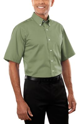 Image for Van Heusen Men's Short Sleeve Dress Twill from PVH Corporate Outfitters