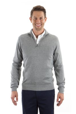 Image for Van Heusen Men's Qtr Zip Knit Sweater from PVH Corporate Outfitters