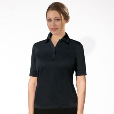 Image for IZOD Women's Solid Jersey Polo from PVH Corporate Outfitters