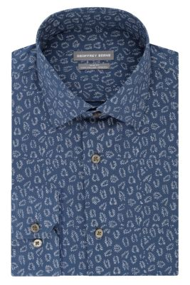 Image for Geoffrey Beene Slim Fit TEK Stretch Wrinkle Free Print from PVH Direct