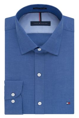 Image for Tommy Hilfiger Slim Fit Non Iron Pinpoint Solid from PVH Direct