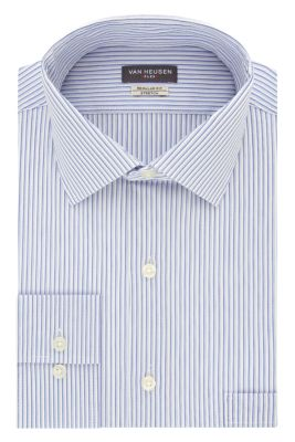 Image for Van Heusen Tall Fit TEK Stretch Wrinkle Free Broadcloth Stripe from PVH Direct