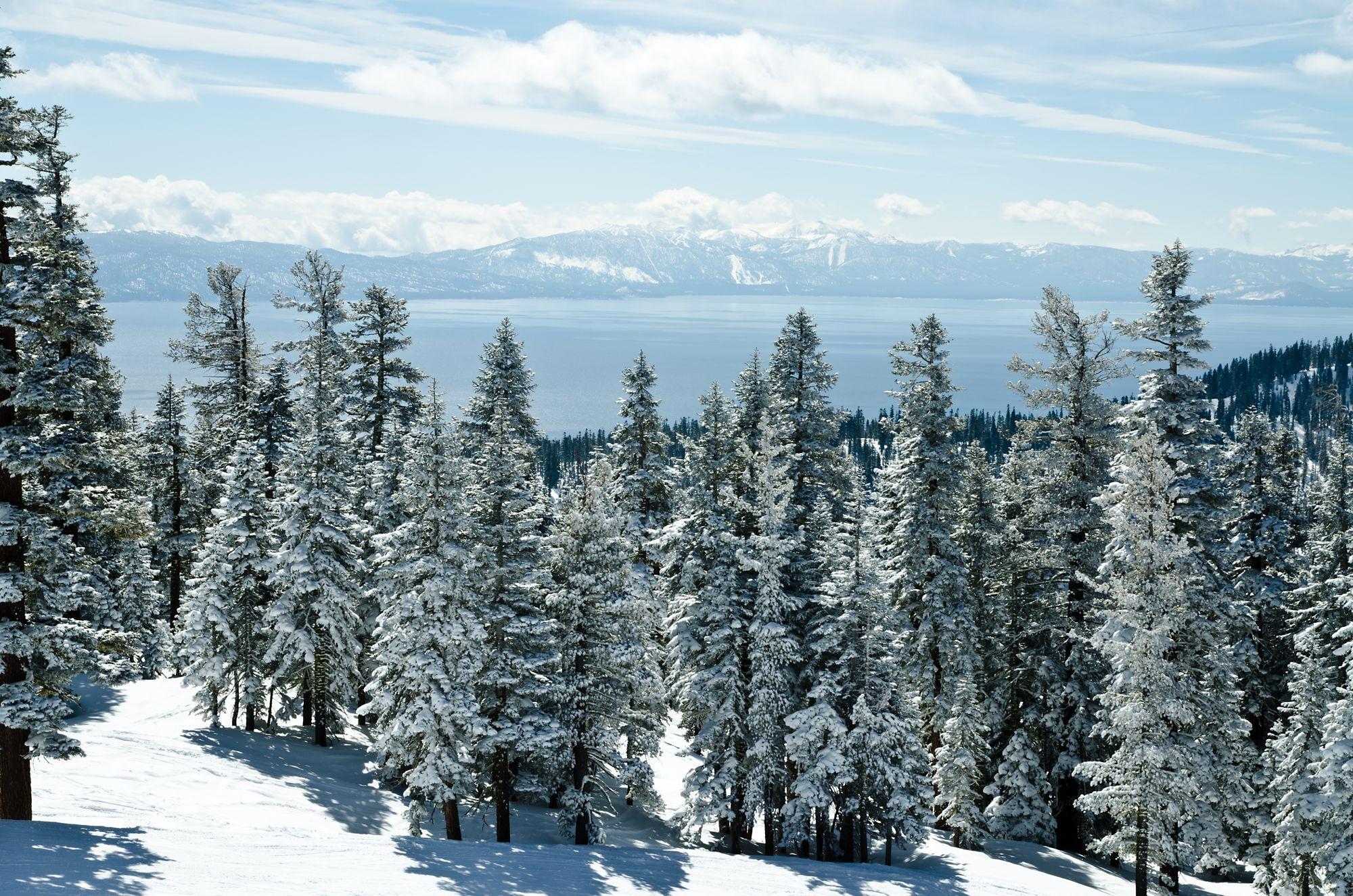 Lake Tahoe In The Winter The Ritz Carlton Lake Tahoe
