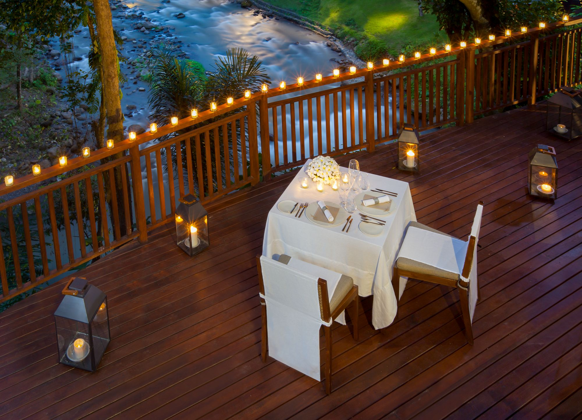 Romantic Candle Light Dinner Mandapa A Ritz Carlton Reserve