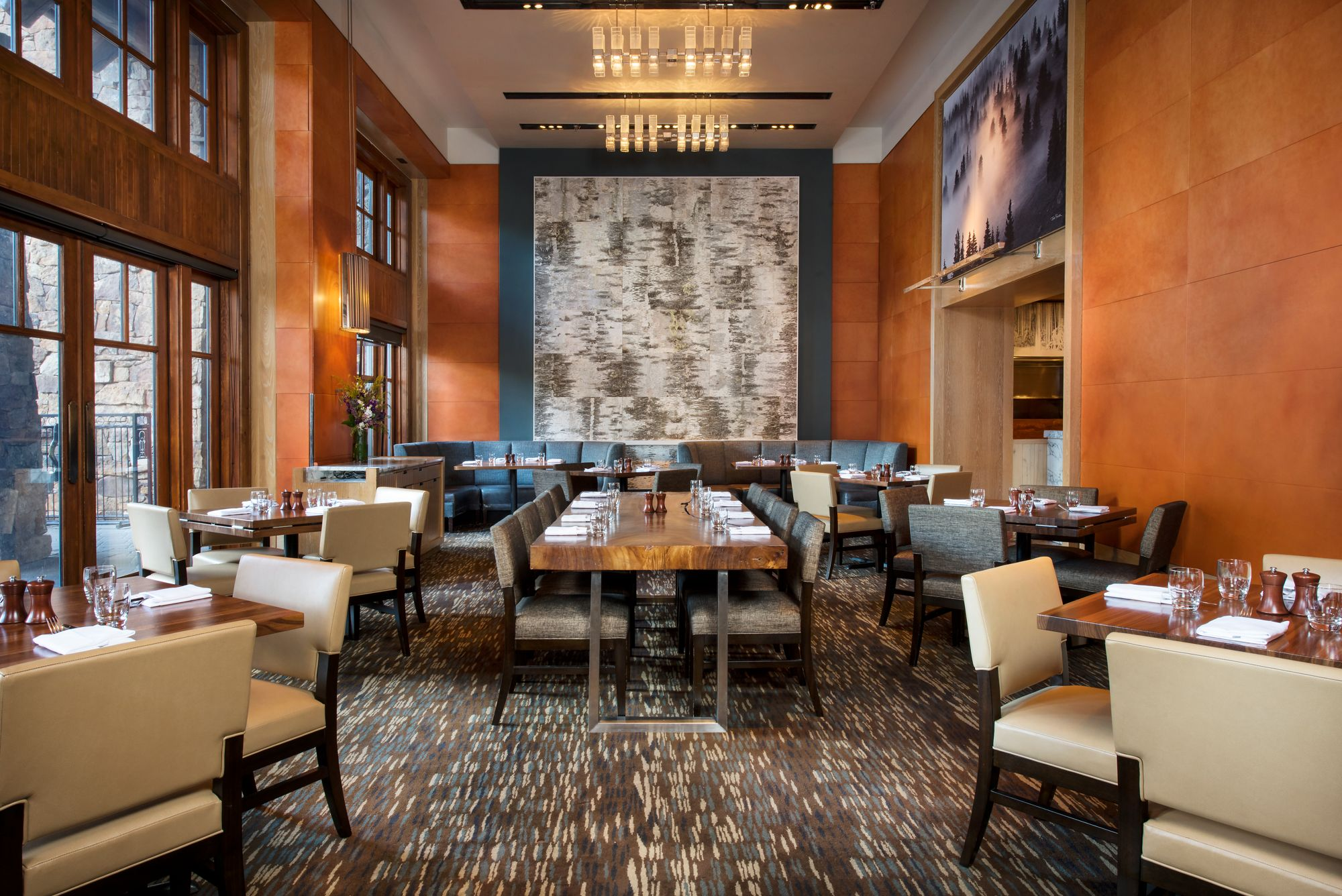 Avon Co American Restaurants The Ritz Carlton Bachelor Gulch