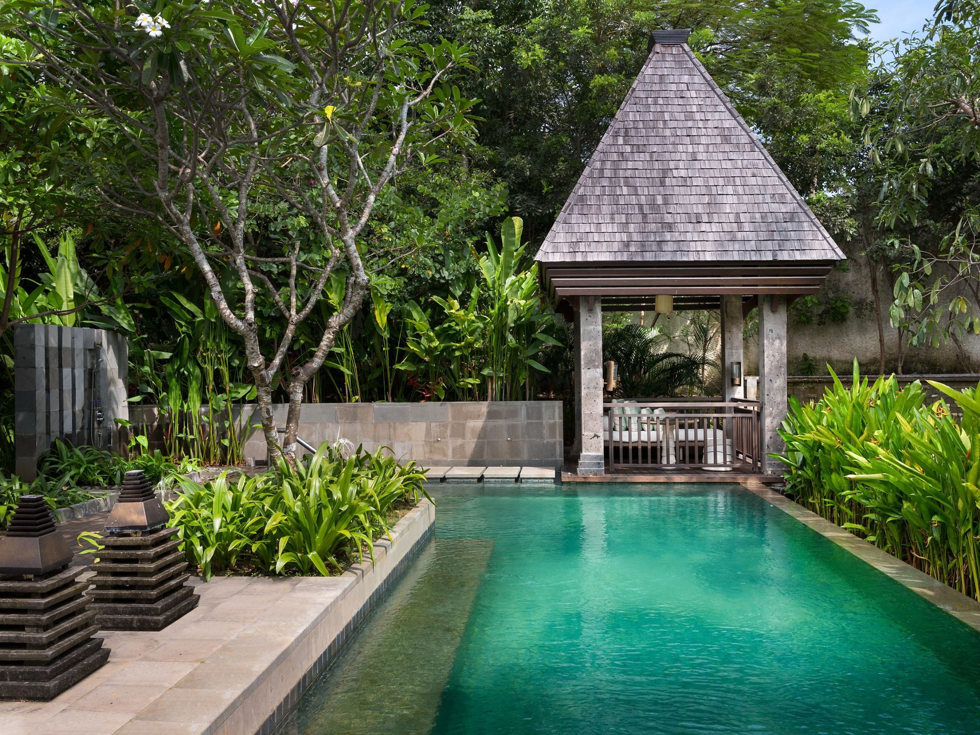 Garden With Swimming Pool luxury honeymoon villa in bali with private pool | the ritz