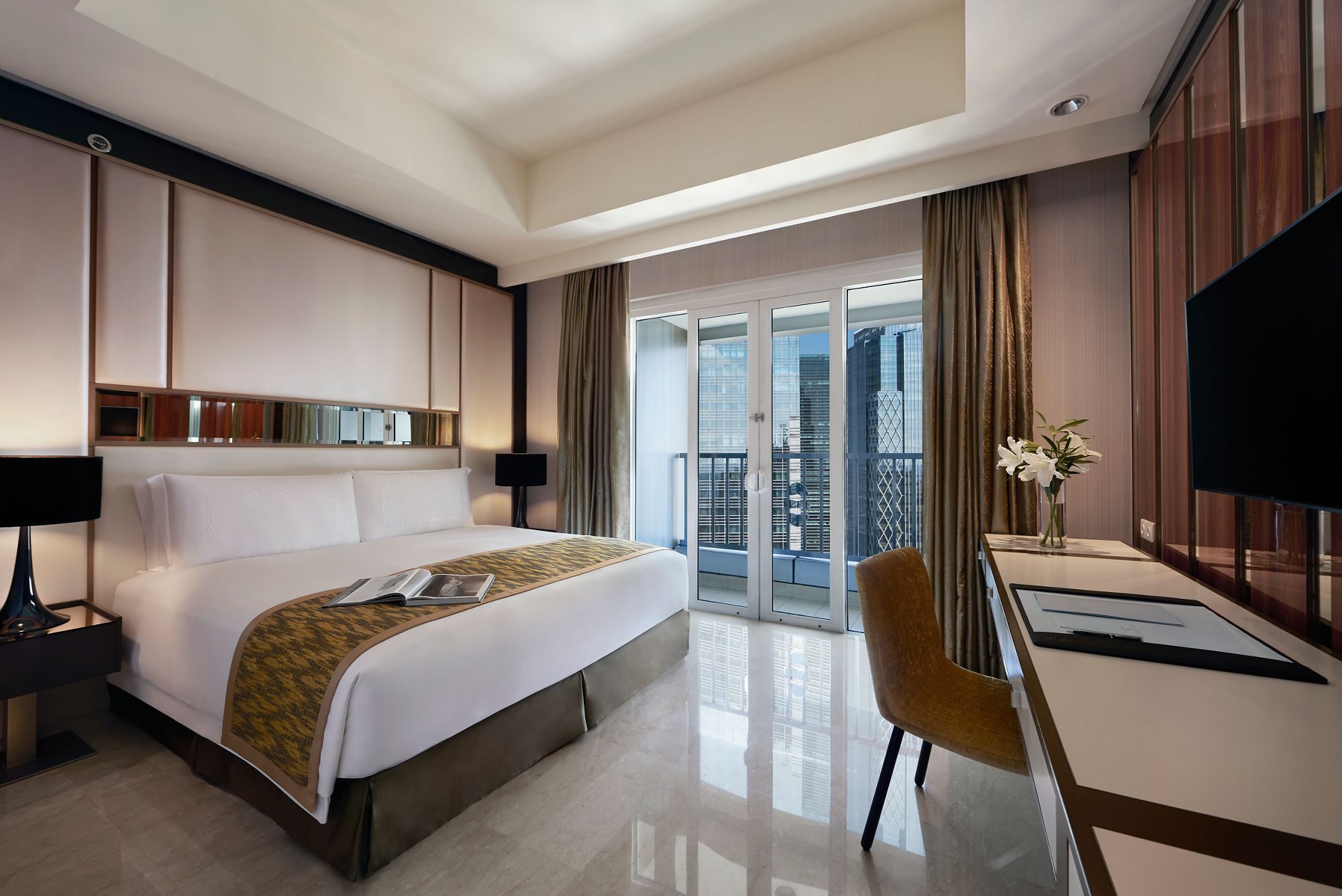 One Bedroom Suites The Ritz Carlton Jakarta Pacific Place