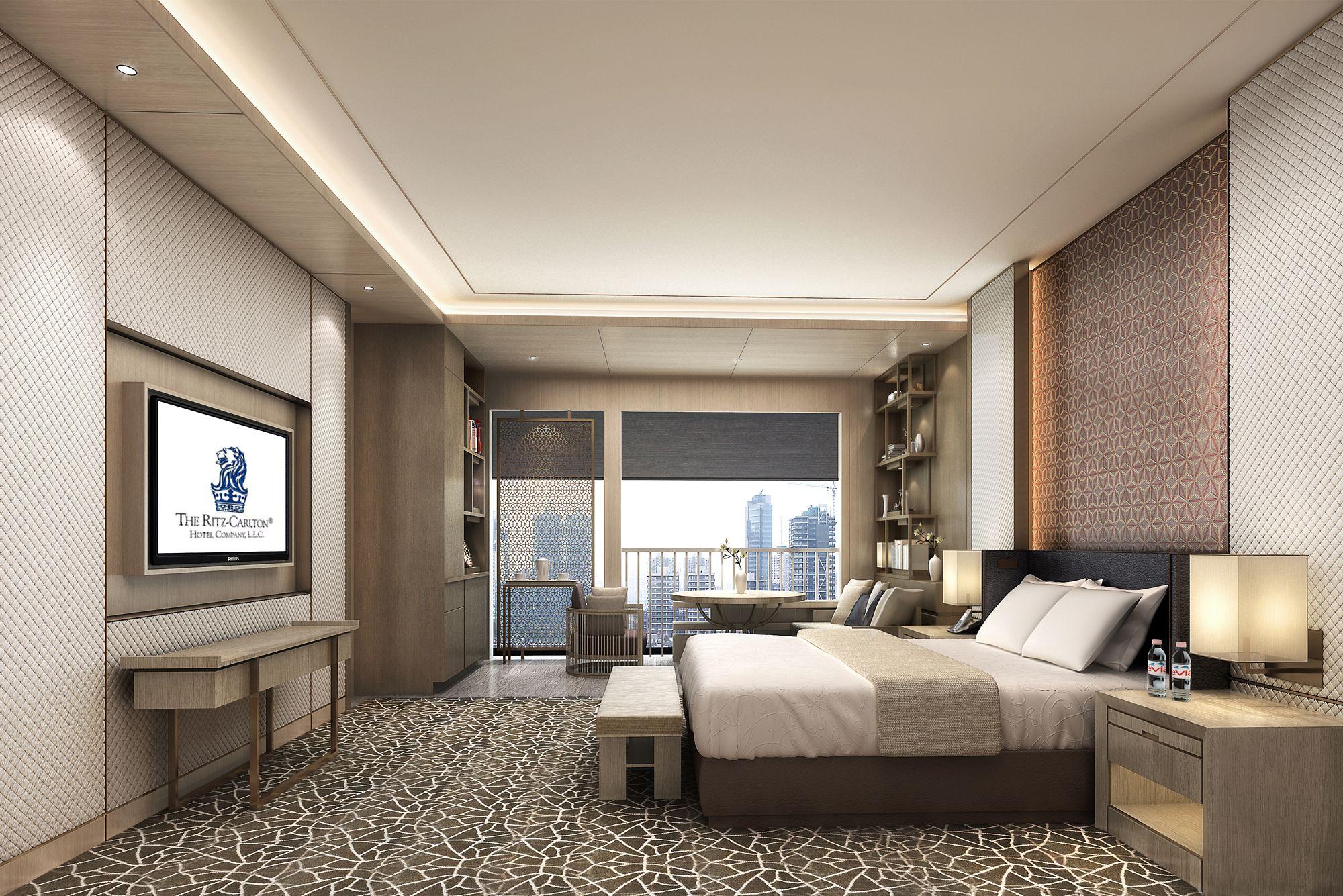 Luxury Room The Ritz Carlton Xian