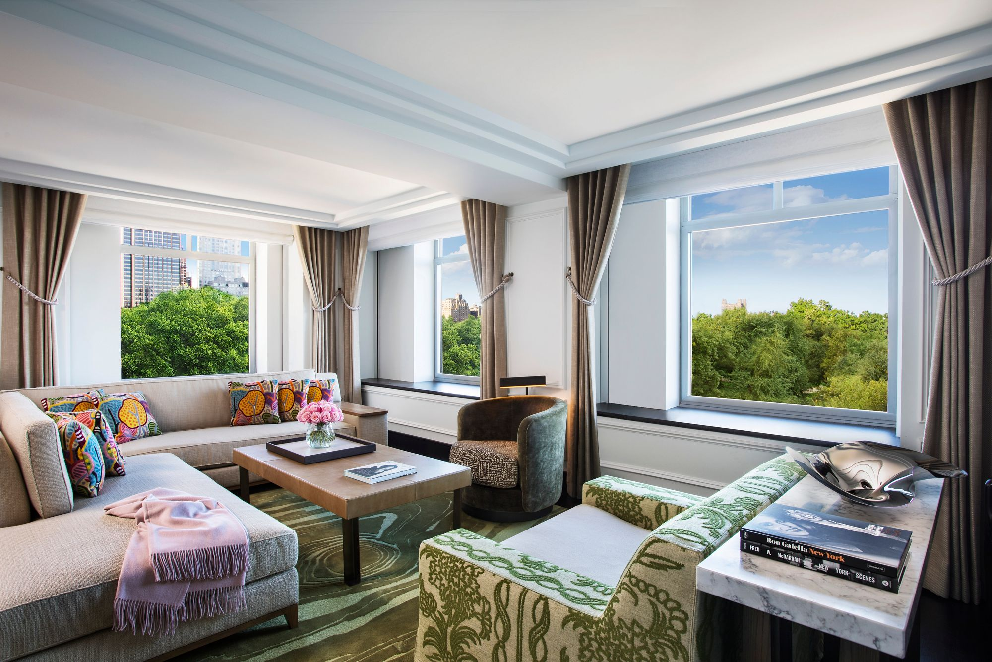 The Presidential Suite The Ritz Carlton New York Central Park