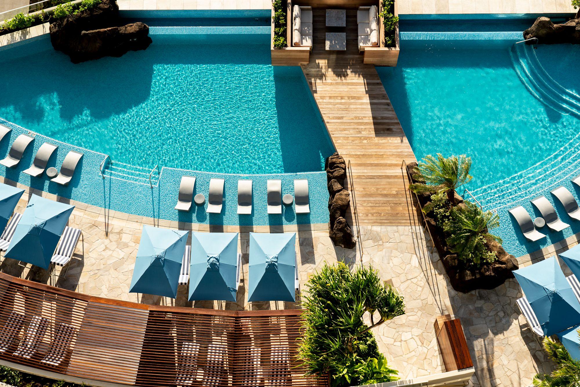 Diamond Head Tower Infinity Pool The Ritz Carlton