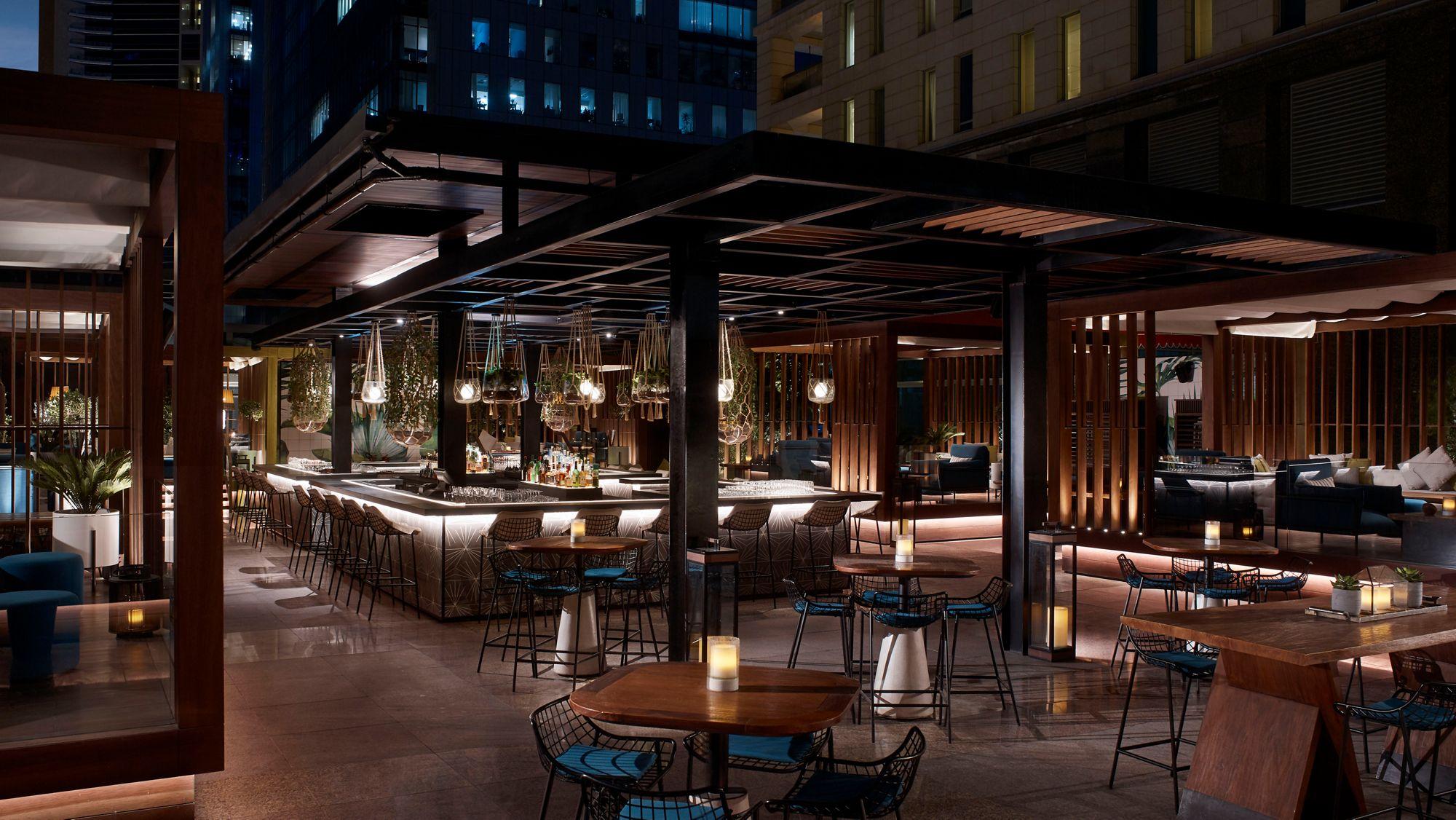 Outdoor Lounge Bar In Dubai Flair 5