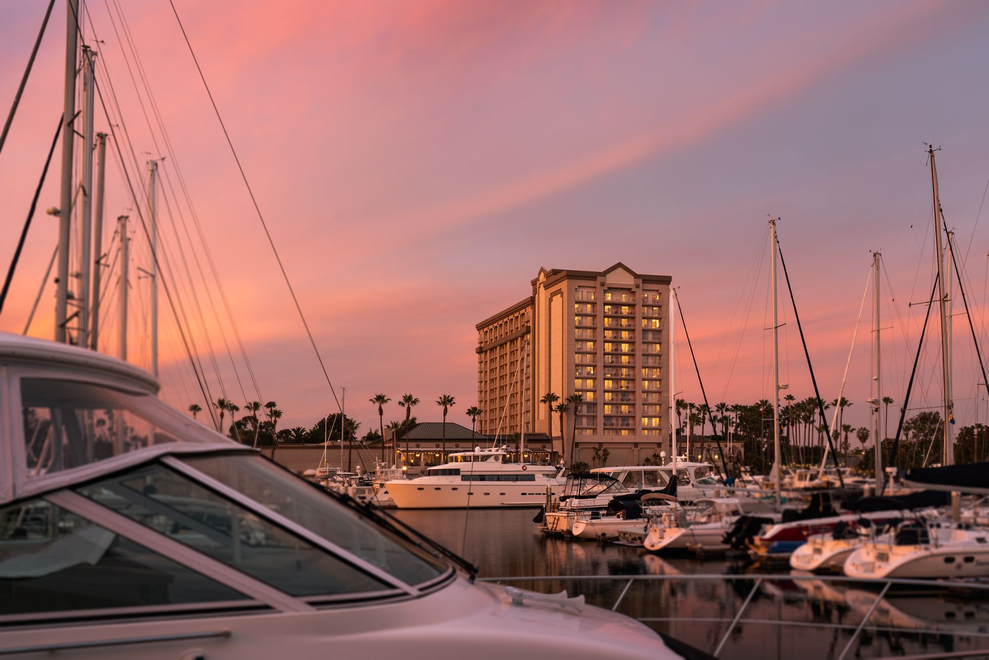 Sailing The Ritz Carlton Marina Del Rey