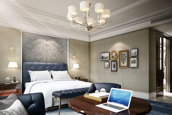 King Guestroom- Rendering
