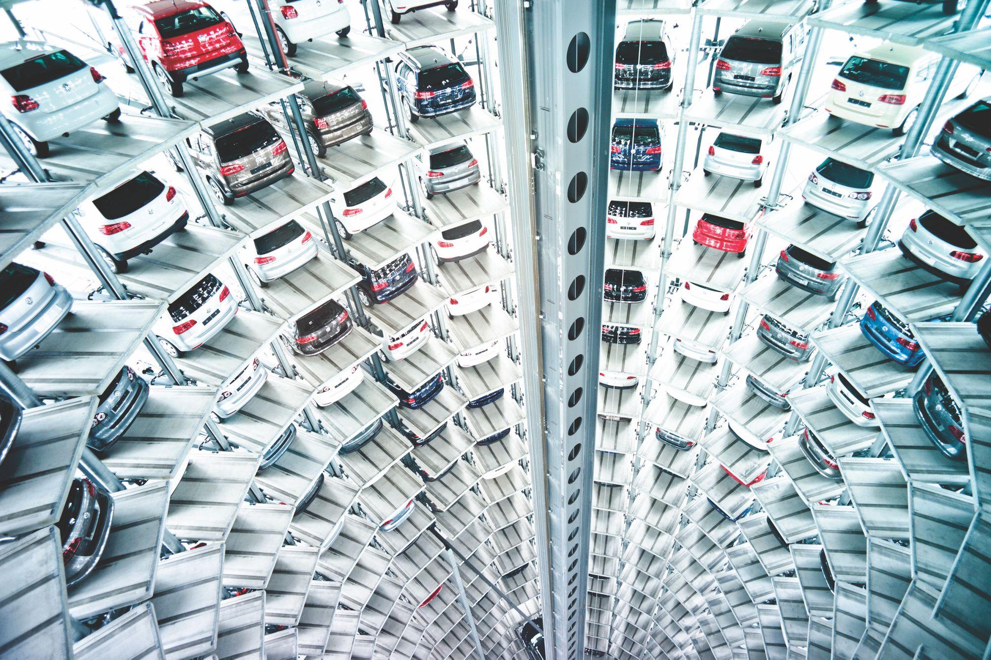 Autostadt Car Towers