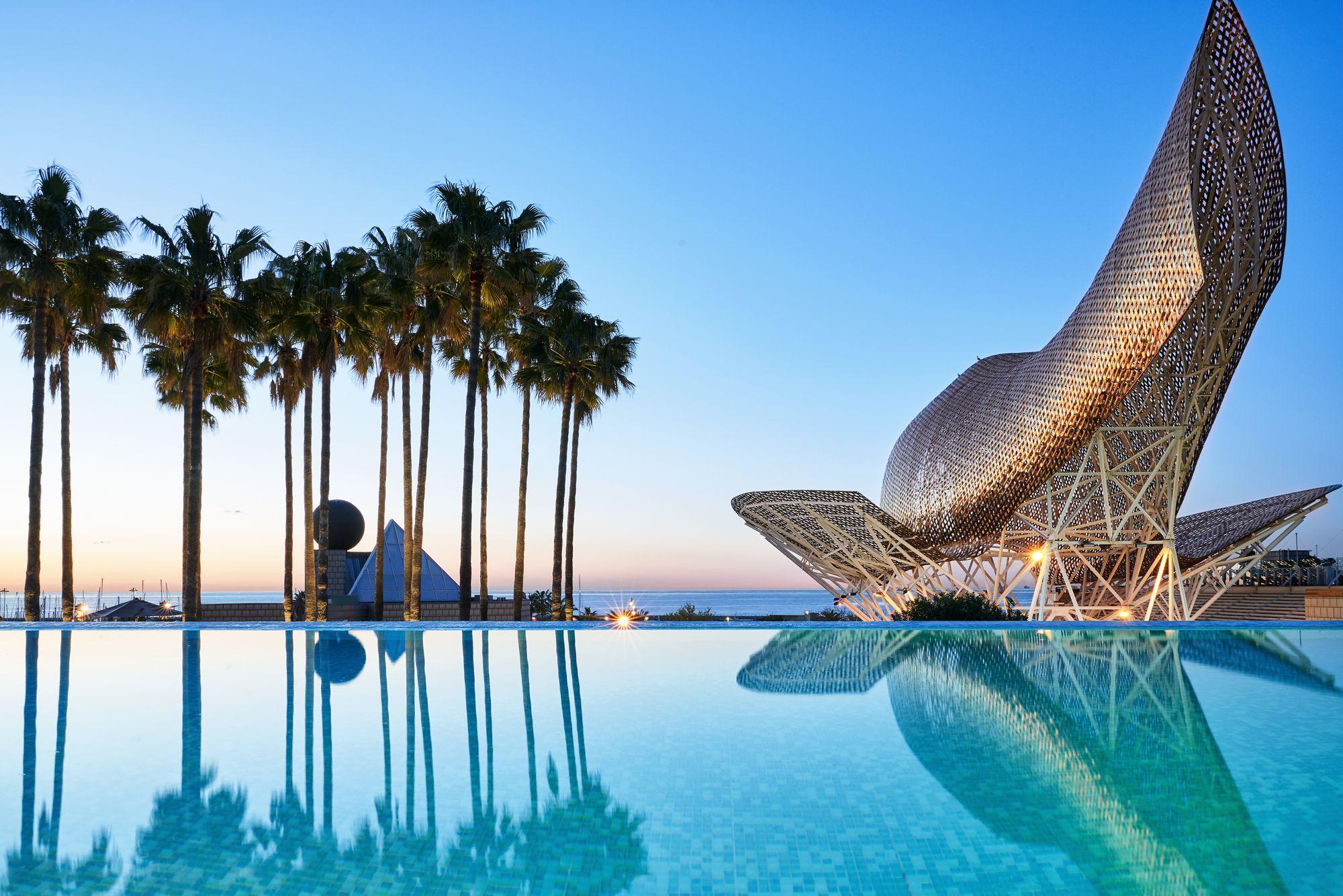 Infinity Pool at Hotel Arts Barcelona