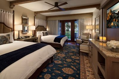 Picture of: Deluxe Two Queens Guest Room The Ritz Carlton Bacara Santa Barbara