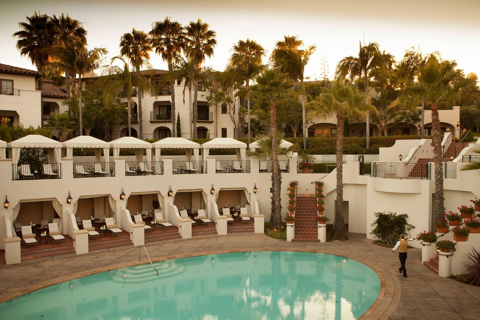 Pool Cabanas The Ritz Carlton Bacara Santa Barbara