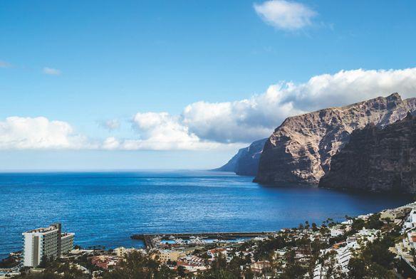 Cliffs of Los Gigantes in Tenerife