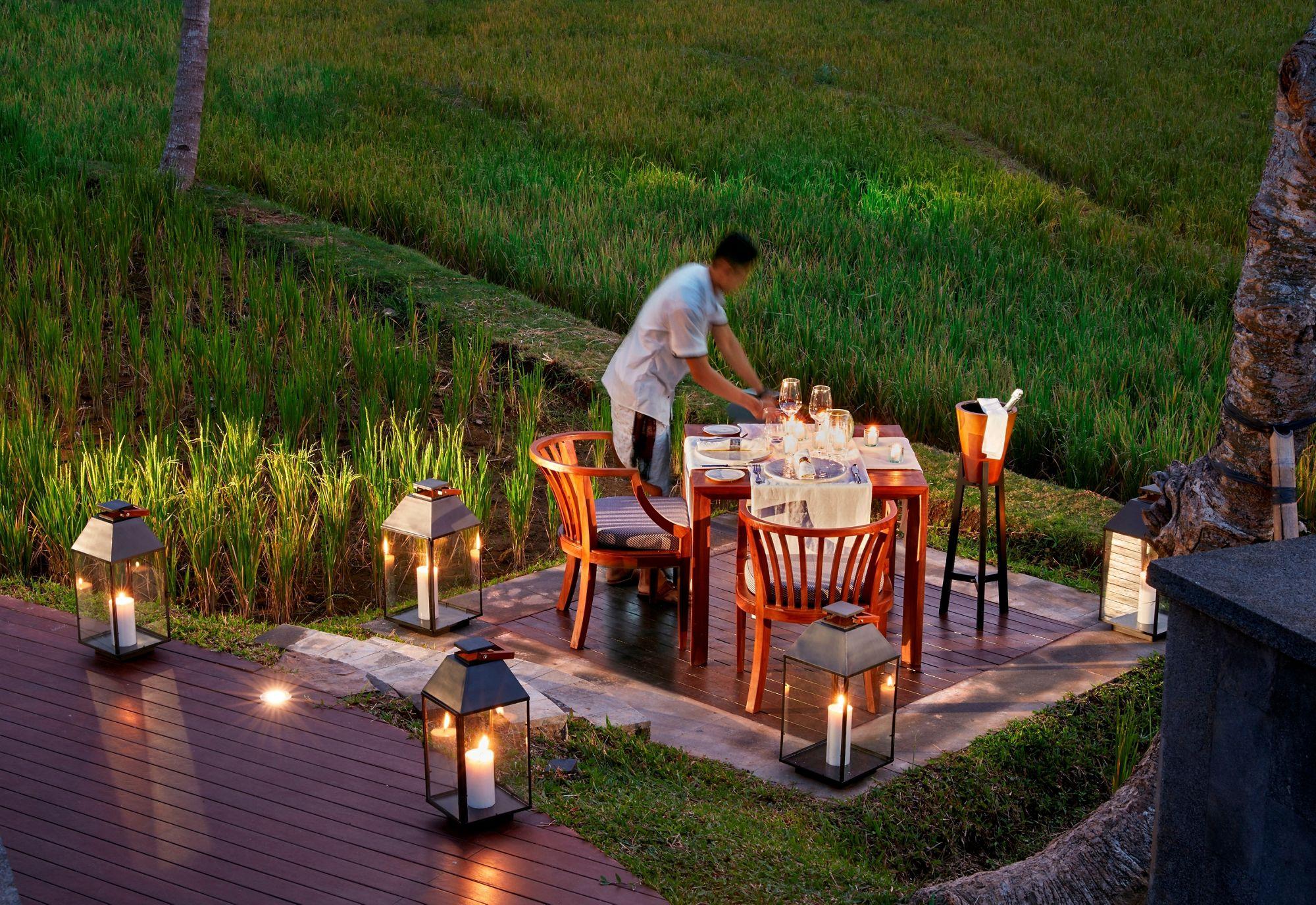 Romantic Dinner Bali Romantic Dinner Ubud Dining Beyond