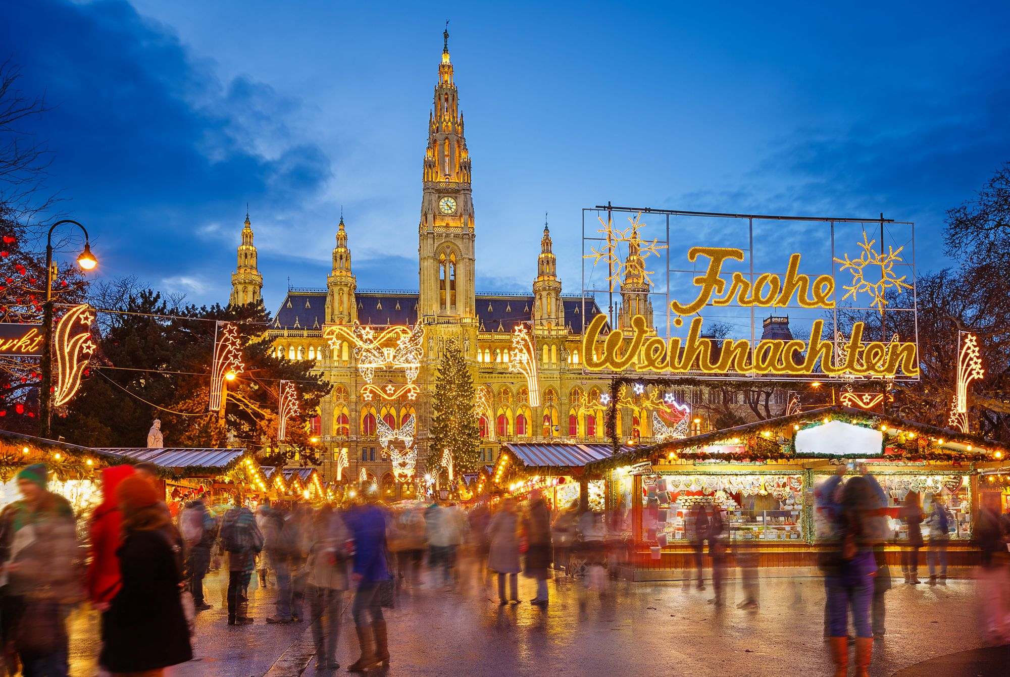 Christmas Markets in Vienna | Journey Into The Ritz-Carlton