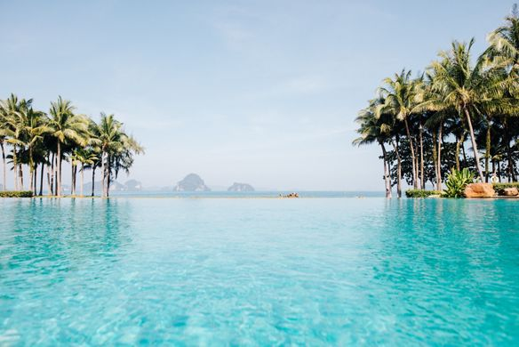 The pool at Phulay Bay, a Ritz-Carlton Reserve