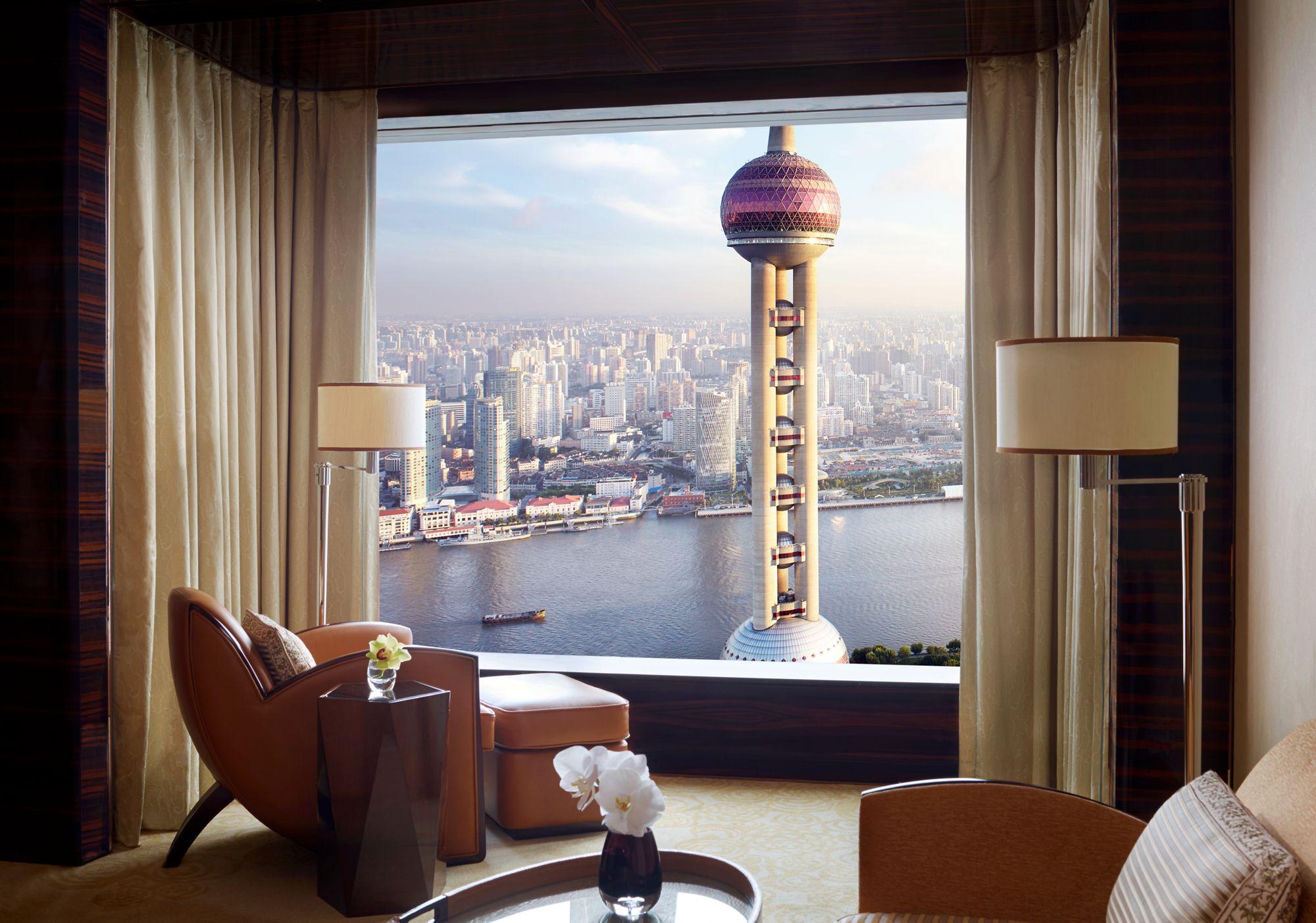 The Ritz-Carlton Room in Shanghai