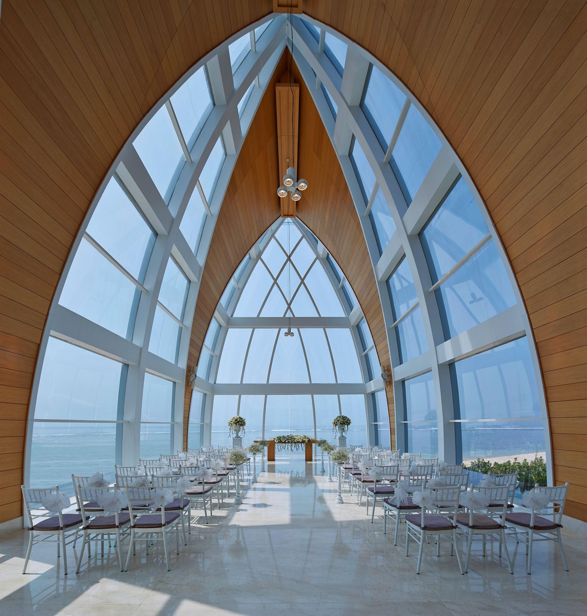 Bali Wedding Chapel Venues The Ritz Carlton Bali