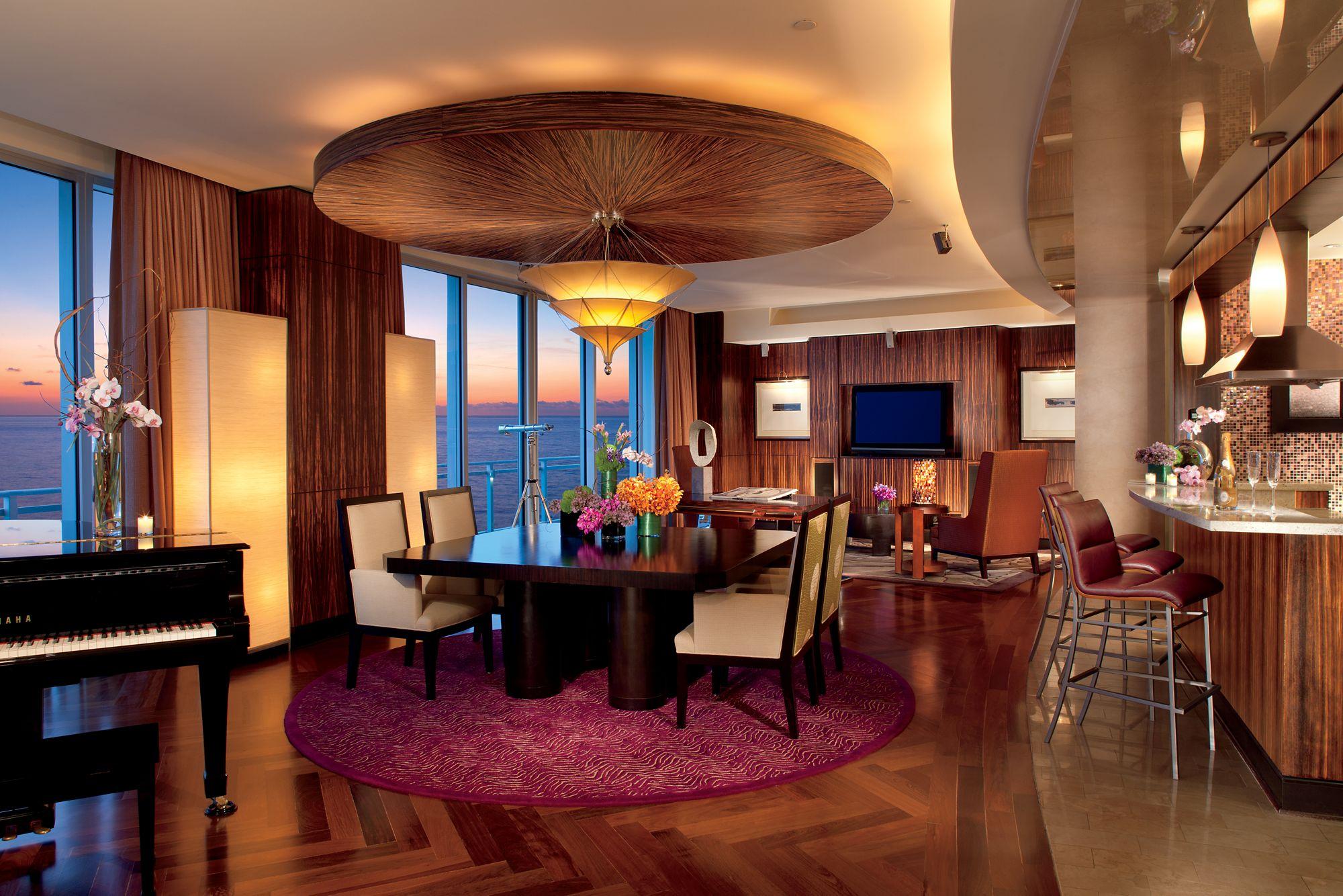 Presidential Suite In Miami The Ritz Carlton Bal Harbour