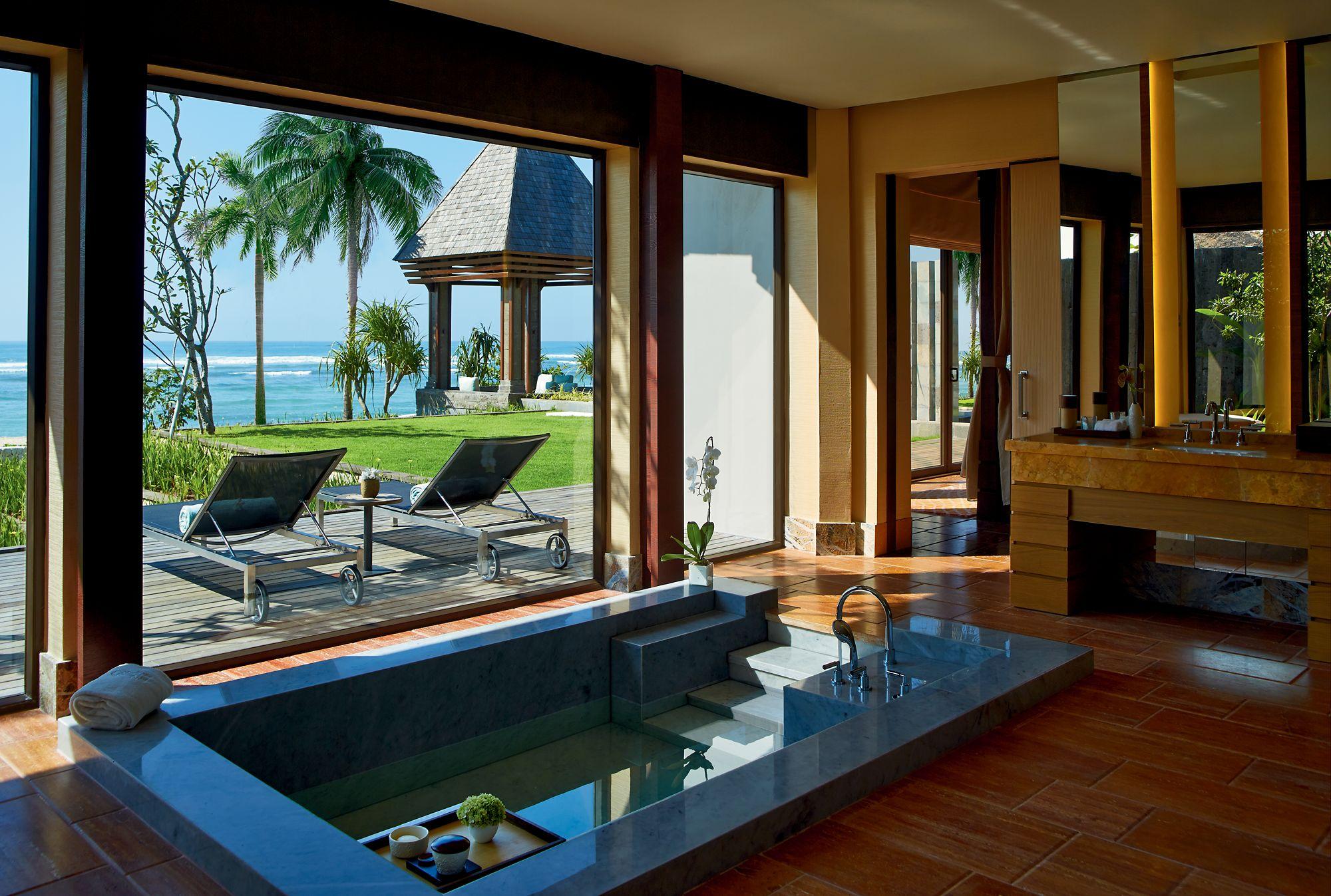 Private Oceanfront Villa In Nusa Dua Bali The Ritz Carlton Bali