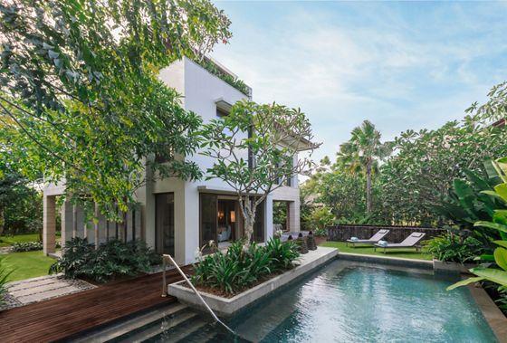 Nusa Dua Villas Beachfront The Ritz Carlton Bali