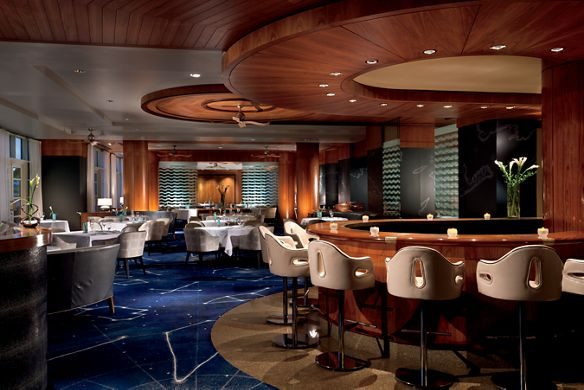 Blue by Eric Ripert, a fine dining restaurant serving the freshest seafood