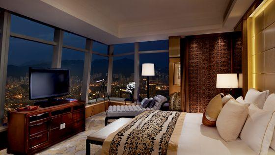 香港旅游住宿预订尊贵商务套房 - 维港海景